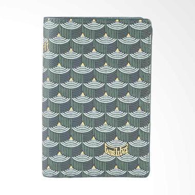 Faure Le Page Bi-Fold Wallet 8 CC - Green [100% Original - FLP]