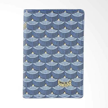 Faure Le Page Bi-Fold Wallet 8 CC - Navy [100% Original - FLP]