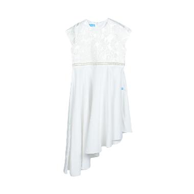 Versail PS7120 Jaguard Aplikasi Mutiara Kids Dress - White