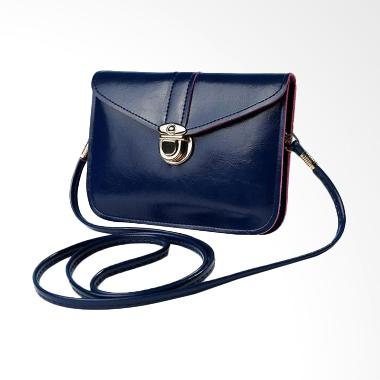 Lansdeal Fashion Zero Purse Single Sling Bag - Navy