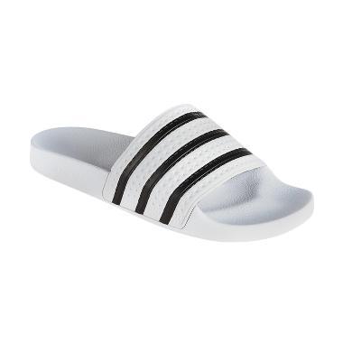 adidas Men's Originals Adilette Slides Sandal Pria - White [280648]