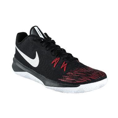 NIKE Men Basketball Zoom Evidence I ...  - Black Red [908976-006]