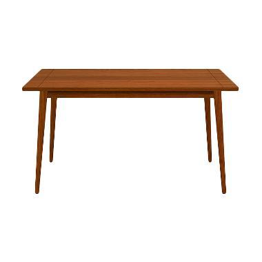 Olafur Alexa Dining Table Meja Makan- Light Brown