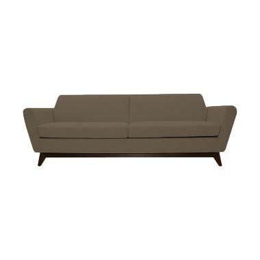 Olafur Frankie Three Seater Sofa - Tuscan Tan