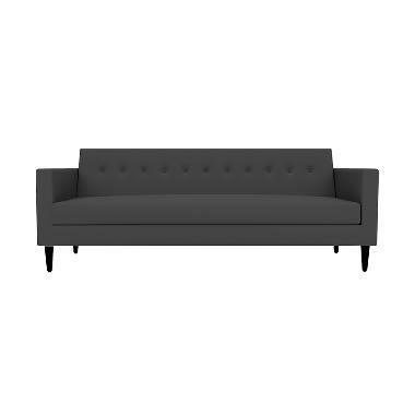 Olafur Jimmy Three Seater Sofa – Granite Grey