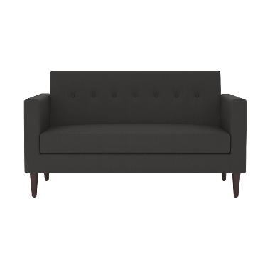 Olafur Jimmy Loveseat Sofa – Granite Grey
