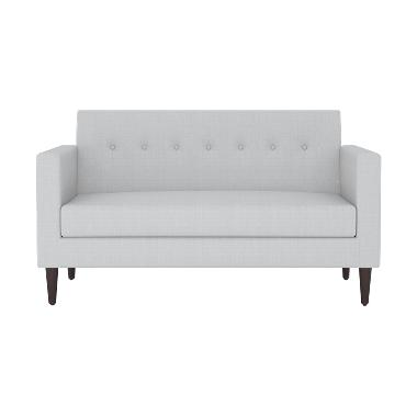Olafur Jimmy Loveseat Sofa – Winter Grey