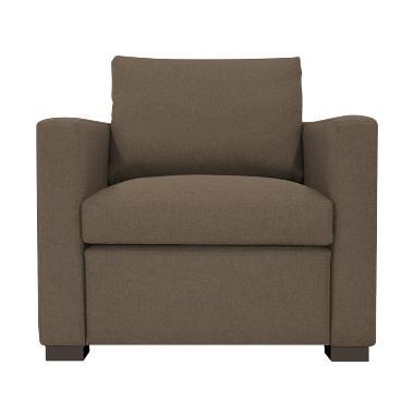 Olafur Jeannie One Seater Sofa - Tuscan Tan
