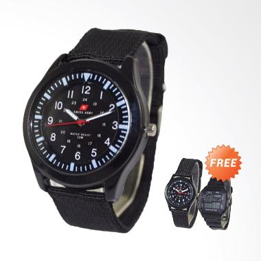 BOGO - Swiss Army SAX 1003-76 Analo ... itam + Free Digital Watch