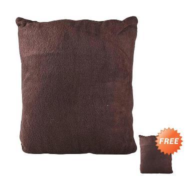 jual bogo buy 1 get 1 free igloo bantal sofa cokelat. Black Bedroom Furniture Sets. Home Design Ideas