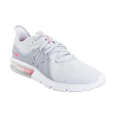 Nike Women Running Air Max Sequent 3 Sepatu Lari Wanita [908993-012]