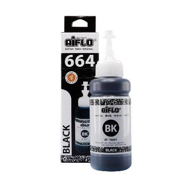 Aiflo 664 Tinta untuk Printer L-series L100 L200 - Black [4 Pcs]