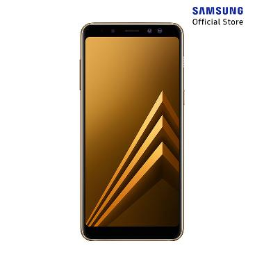 Samsung Galaxy A8 Smartphone - Gold [32GB/ 4GB/ 2018 Edition]