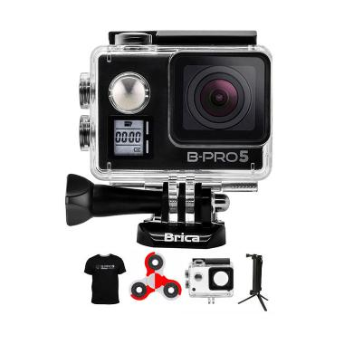Brica B-PRO 5 AE Mark IIs AE2s Spin ... pod Action Camera - Hitam