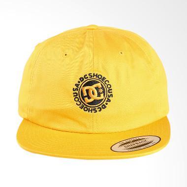 DC Core Twill Cap Old Topi Pria - Gold [ADYHA03564-YKF0]