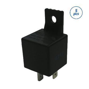 Hella 4RA 965 400-007 Relay Motor [12V/30A/4Pin] [1 Pack = 5Pcs]