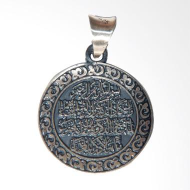 Muslim Jewelry Murni Qadam 925 Every Soul Tastes Death Liontin Perak
