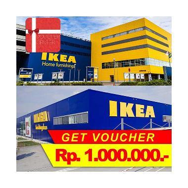 Voucher Center - IKEA Indonesia Gift Voucher [Rp 1.000.000]