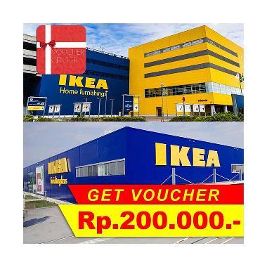 Voucher Center - IKEA Indonesia Gift Voucher [Rp 200.000]