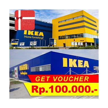 Voucher Center - IKEA Indonesia Gift Voucher [Rp 100.000]