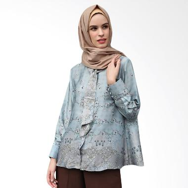 Ria Miranda Edith Top Muslim - Blue