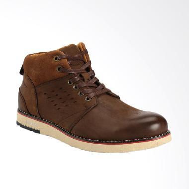 Jual Jim Joker Oreo 1ba Sepatu Boots Casual Pria Coffee Murah