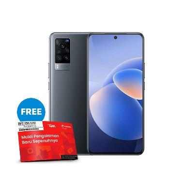 harga [Pakai voucher TELKOMSEL-BLIBLI] Vivo X60 Smartphone [8GB/ 128GB] + Powerbank & TWS robot Free SP Telkomsel BundlingMax Midnight Black Blibli.com