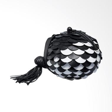 SRW Furball Mini Tas Wanita - Black White