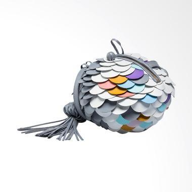 SRW Furball Mini Tas Wanita - Grey Pastel