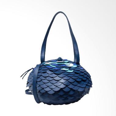 SRW Furball Medium Tas Wanita - Navy Blue