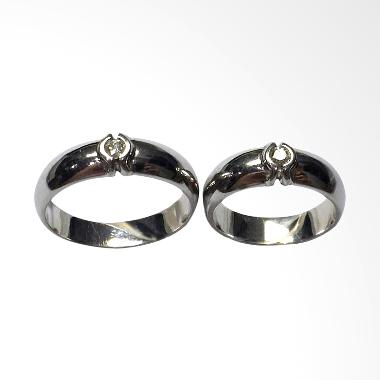 Pentacles TICI-162 Wedding Ring White Gold with Diamonds