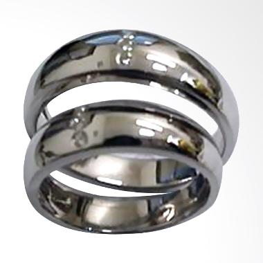 Pentacles TICI099 Wedding Ring White Gold with Diamonds