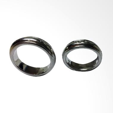 Pentacles TICI270 Wedding Ring White Gold with Diamonds