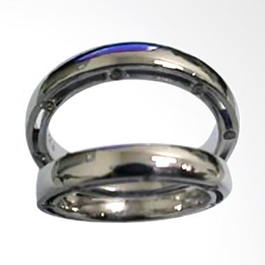 Pentacles TICI-269 Wedding Ring White Gold with Diamonds