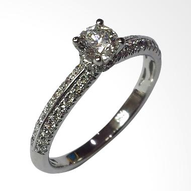 Pentacles SC4313 White Gold Ring With Diamond