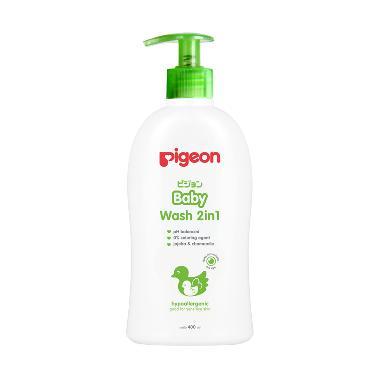 harga Pigeon Baby Wash Chamomile Pump Shampoo & Sabun Cair Bayi [400 mL] Blibli.com