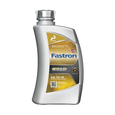 harga Pertamina Fastron Gold Sae 5W-40 Oli Pelumas Mobil [1 Liter] Blibli.com