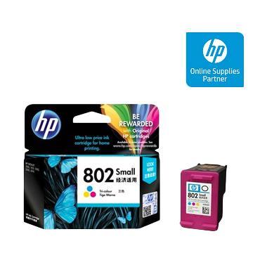 Hewlett-Packard - 802 Tinta Printer [CH562ZZ/ Small] Tri Color