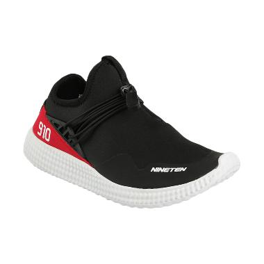 910 Men Ryu Running Shoes Sepatu Lari Pria - Black White Red  11211152016  2ca2bcbddc