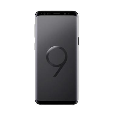 Samsung Galaxy S9 Smartphone - Midnight Black [64GB/ 4GB] Resmi SEIN