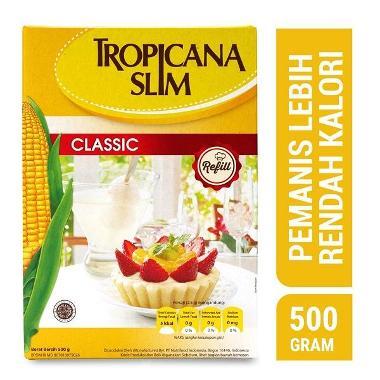 harga Tropicana Slim Classic Refill Gula [500 gr] Blibli.com