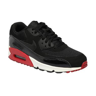NIKE Men Running Air Max 90 Essenti ... ck Red White [537384-066]