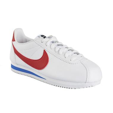 NIKE Women Running Classic Cortez L ... ty Royal Red [807471-103]