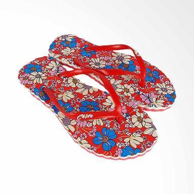 Chika Sandal Orchid Sandal Cantik Wanita - Merah