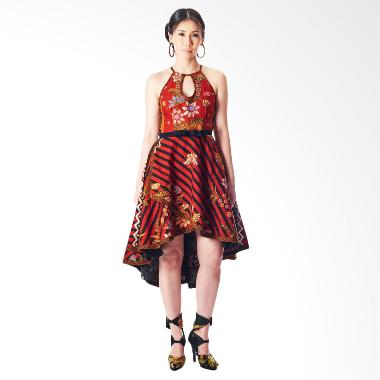 Anne Avantie Salwa Batik Dress - Red