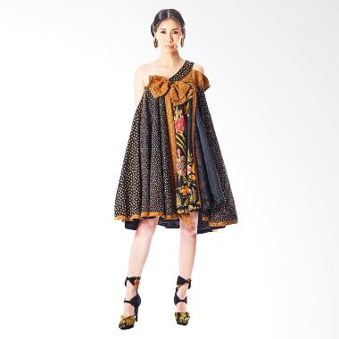Anne Avantie Laksmini Batik Dress - Brown