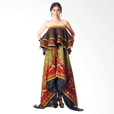 Anne Avantie Sasmara Batik Dress - Multicolor
