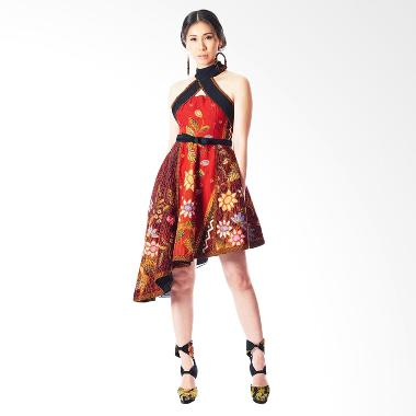 Anne Avantie Jayatri Batik Dress - Red