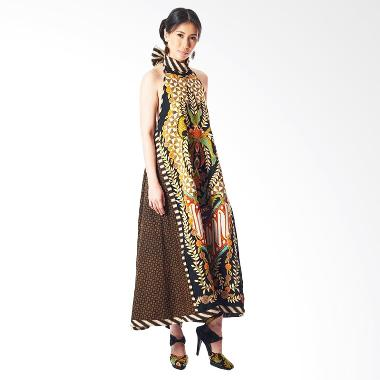Anne Avantie Sekar Jayanti Batik Dress - Brown