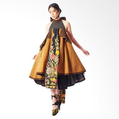 Anne Avantie Umbul Megantara Batik Dress - Brown